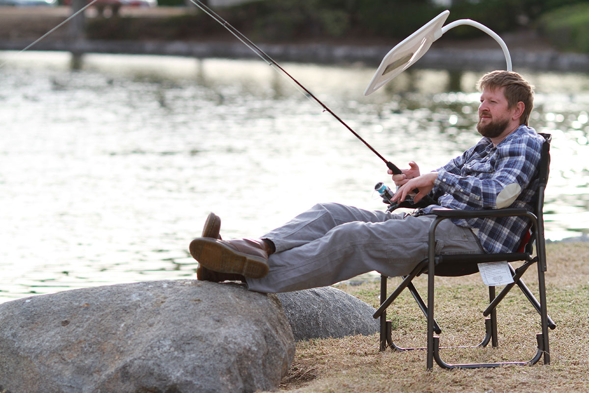 Sunshade for fishing